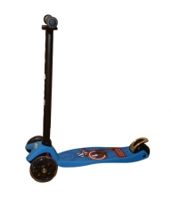 Scooter Three Wheeled Rocket Scooter for kids - Blue