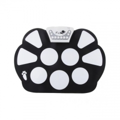 Electronic Soft Silicone Roll Up Drum Kit with Drumstick