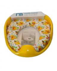 Disney Wiinie The Pooh Kids Padded Toilet Seat Soft Potty Training Toilet Trainer