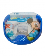 Disney Mickey Mouse Kids Padded Toilet Seat Soft Potty Training Toilet Trainer