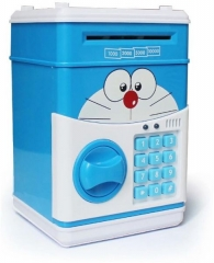 Large Piggy Bank with Password blue one size