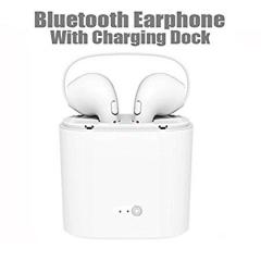 Double Wireless Bluetooth Earphones White