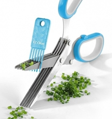 Master Culinary Multipurpose Kitchen Scissors 5 Blades Stainless Steel green ONE SIZE