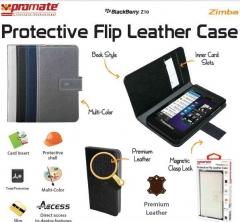 PROMATE FLIP LEATHER CASE Z10 ZIMBA -100568689 white Blackberry Z10