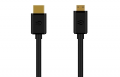 EUGIZMO HDMI A TO MINI-HDMI (C) AVC-CABLINK HN  -100170841 black 1.5m