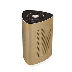 Promate CYCLONE:Gold Wireless Speaker with Touch Control System and Built-In Microphone