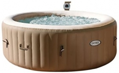 Intex 28402 Whirlpool PureSpa - Bubble Therapy brown exterior 80.5 x 56.5 x 52.4