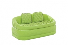 Intex zx-68573- lounging chairs, Cafe loveseat, 2-in-1 valve, 157 x 86 x 69 cm Green