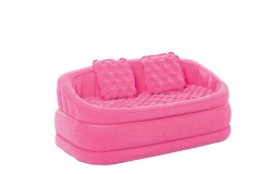 Intex zx-68573- lounging chairs, Cafe loveseat, 2-in-1 valve, 157 x 86 x 69 cm Pink