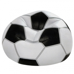 Sports Fan Beanless Bag zx-68557 black and white