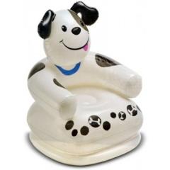 Intex Inflatable PVC Animal Chair zx-68556 black & white