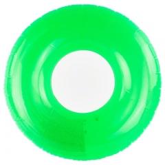 Intex (59260) Transparent Swim Tube Ring - Green, (30 X 17 X 3) cm