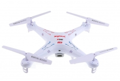 2.4G 6 Axis Gyro HD Camera RC Quadcopter with 2.0MP Camera white one size