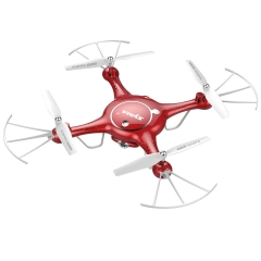 FPV RC Drone with 720P HD Wifi Camera Quadcopter with Flight Plan Route App Control red one size