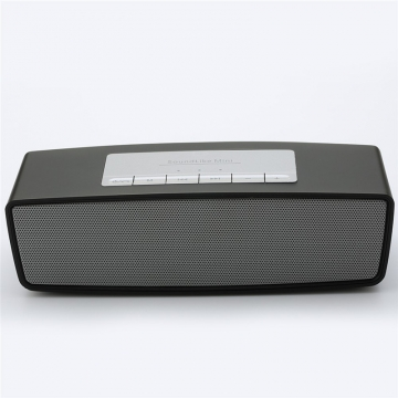 Bluetooth Speakers-Mobile music player-Outdoor Speakers-FM TF Card USB Portable Speakers Subwoofer Black 180mm*54mm*57mm