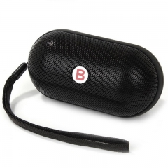 Mini speaker Y28 Pill Speaker Wireless Bluetooth Speaker FM TF Card Slot Built-in Battery Hands-free Black stereo