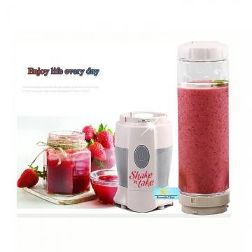 0.5L Shake N Take Juice Blender  Multifunctional Mini Electricity Juicer Pocket Sports  Blender White and Grey