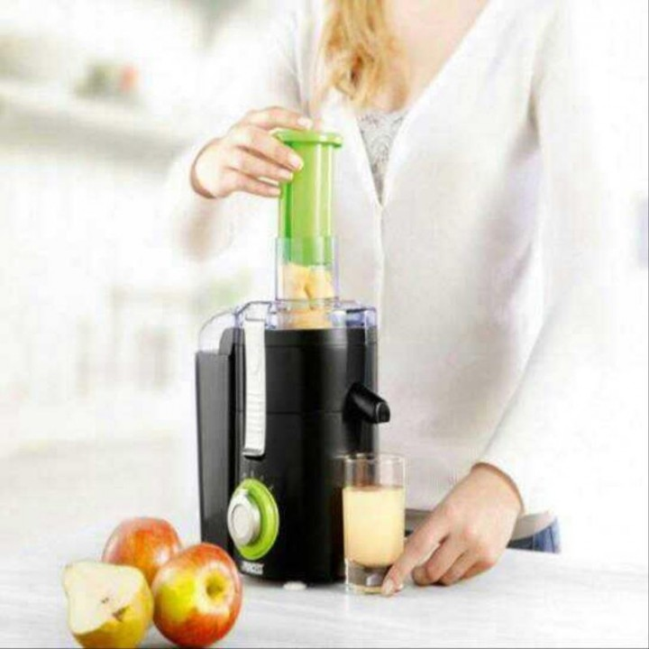 Professional Stainless Steel Whole Fruit Vegetable Juicer Juice Extractor red