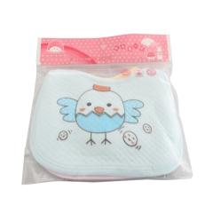Baby Newborn Soft Cotton Lunch Feeding Saliva Bibs multi-color M
