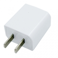 5V1A USB Fast Charging Wall Charger Adapter Travel USB Charger Head for Huawei/Tablet White 5.6*3.3*2cm