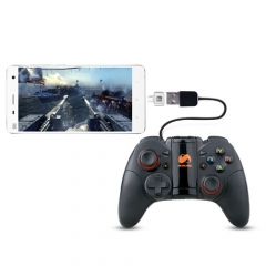 OTG Cable USB OTG Adapter Joystick Joypad Gamepad For Huawei Xiaomi HTC Samsung Cellphone Black
