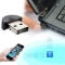 Mini USB Bluetooth Adapter V 4.0 Dual Mode Wireless Dongle CSR 4.0 for Windows XP/2000/ME/98SE Silver for Laptop PC
