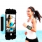 Sports Rotating Arm Bag 180 Degree Free Adjustment Wrist Bags For Cellphones Blue for Phone