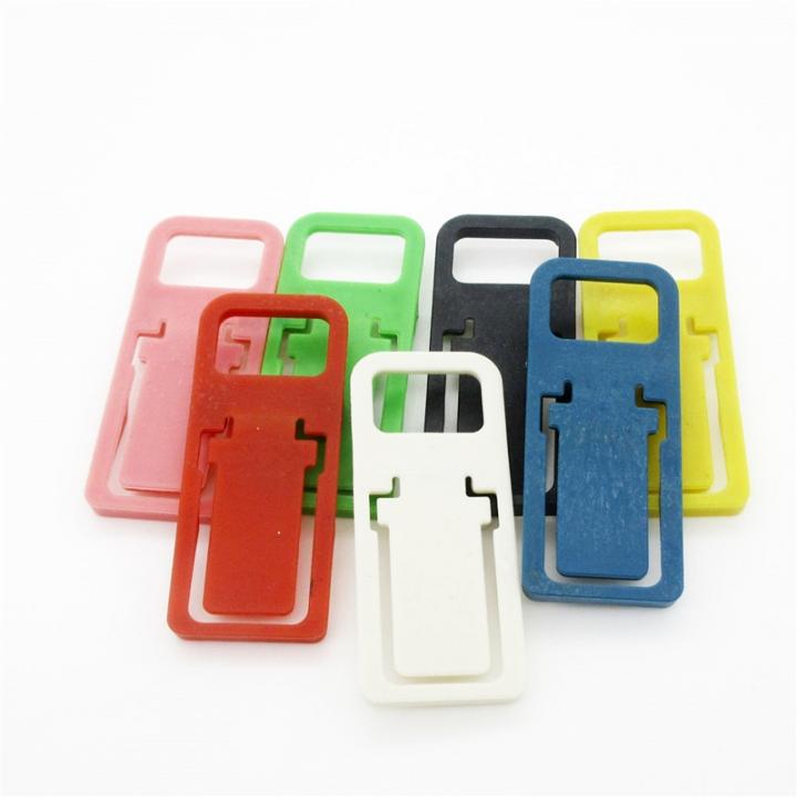 Phone Fold Holder Mini Desk Station Plastic Stand Folding Holder For Phone Color Random-2pcs for Phone