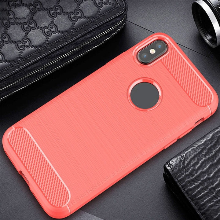 Ultrathin Mobile Phone Cover Case Hard Back Protector For iPhone 8 Red for iPhone 8