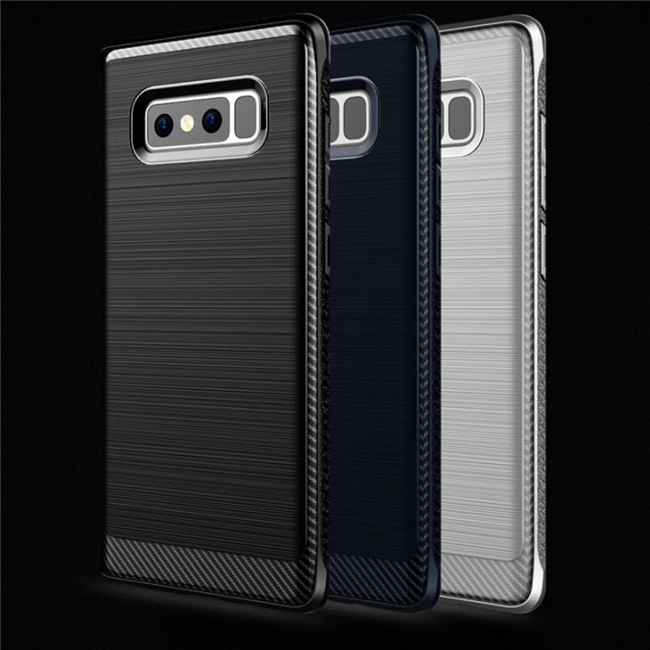 Hybrid TPU Protective Mobile Phone Cover Cases For Samsung Note 8 Blue for Samsung Note 8