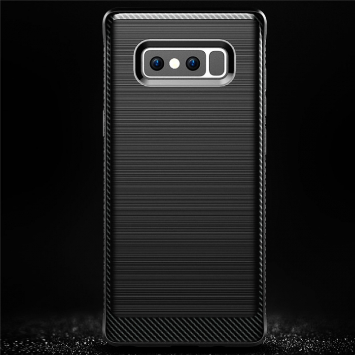 Hybrid TPU Protective Mobile Phone Cover Cases For Samsung Note 8 Black for Samsung Note 8