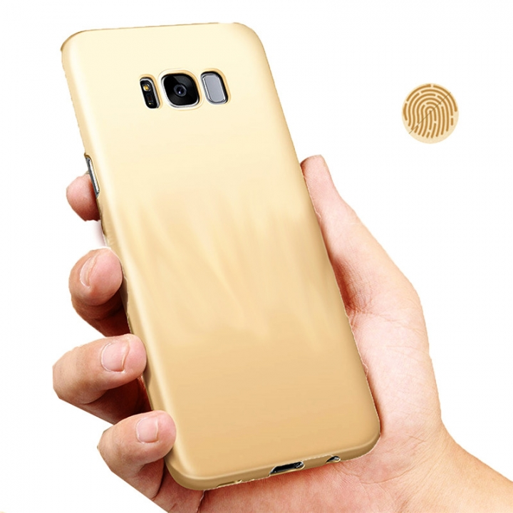 Heat Dissipation Phone Case For Samsung S8 S8 plus Full Cover Case S7 S7 Edge Protect Shell Gold-S8 Plus for Samsung