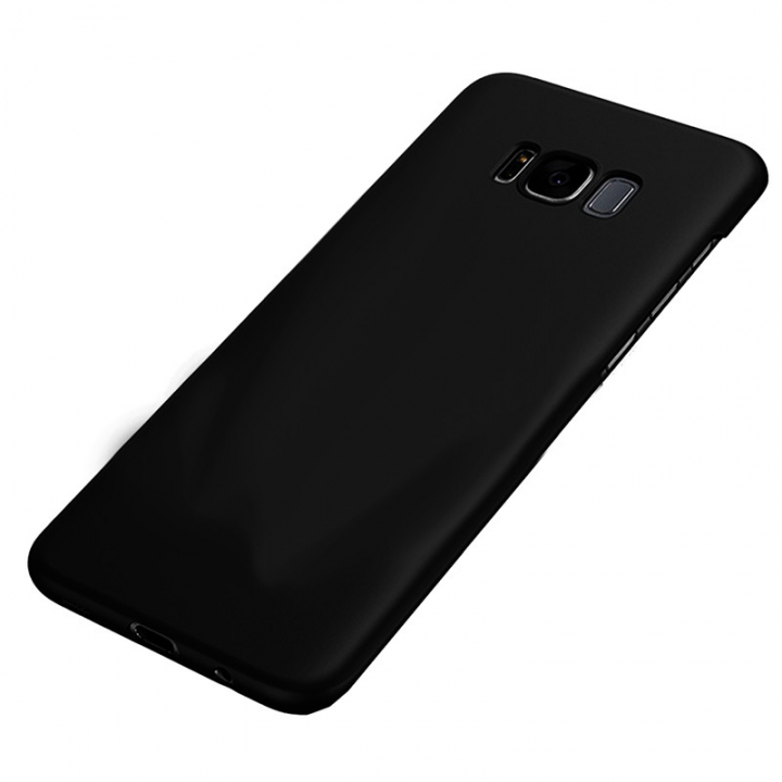 Heat Dissipation Phone Case For Samsung S8 S8 plus Full Cover Case S7 S7 Edge Protect Shell Black--S8 for Samsung