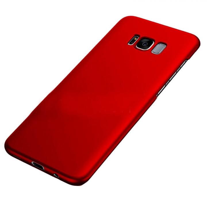Heat Dissipation Phone Case For Samsung S8 S8 plus Full Cover Case S7 S7 Edge Protect Shell Red--S7 Edge for Samsung