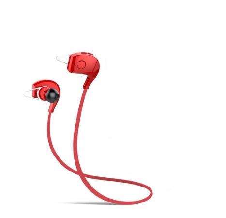 Bluetooth Earphone Sports Wireless Earphones Hand-free HD Stereo ATPX Bluetooth Running Headset Red