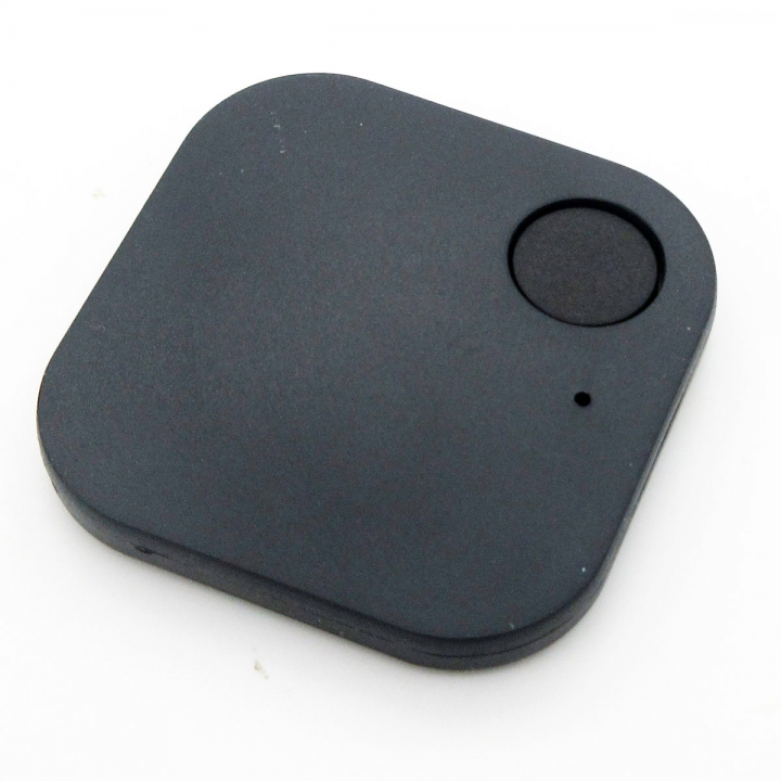 Bluetooth Tracker Pet Key Finder Locator Child Bag Wallet Anti-lost Alarm for Phone Black for Smartphone