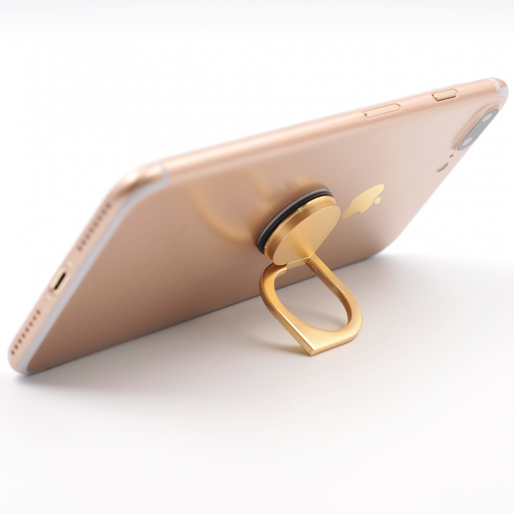 Magic Finger Ring Holder 360 Rotating Bracket Stand for Cell Phone Universal Gold 1.5*4.5*6.8cm