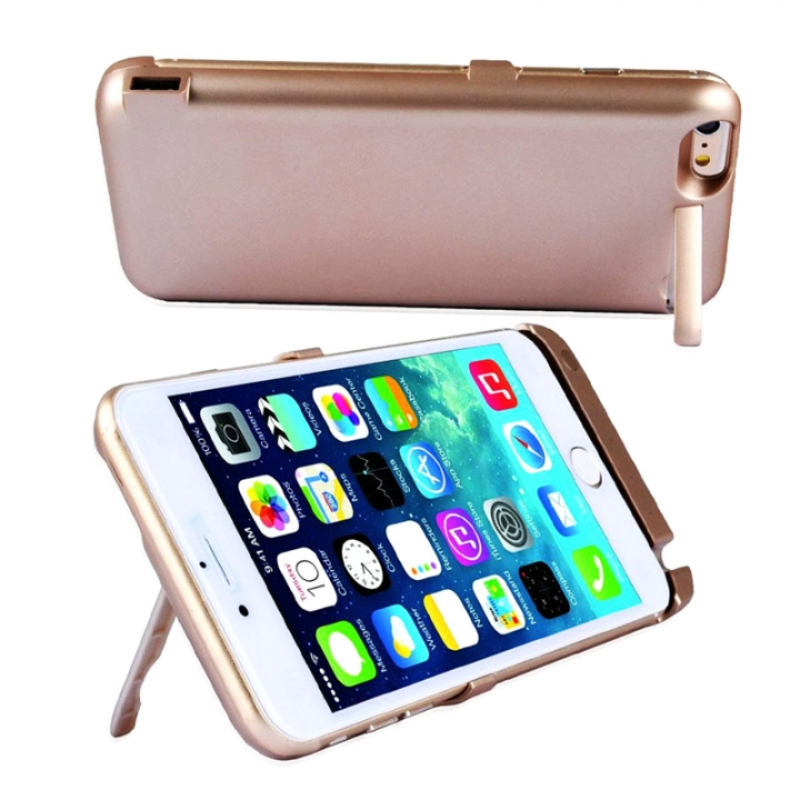 10000mAh Back Cover Clamp Battery For iPhone 6 Plus/ 6s Plus/ 7 Plus gold iPhone 6Plus/6s Plus
