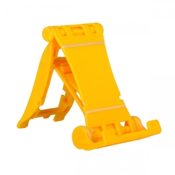 Universal Racing Car Shape Mobile Phone Holder Adjustable Tablets Cellphone Stand Bracket yellow Universal