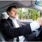 Music Bluetooth Earphone Headset Car Driver Stereo Handsfree Business Headhone black