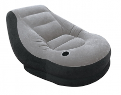 Inflatable Ultra Lounge with Ottoman multi-colour