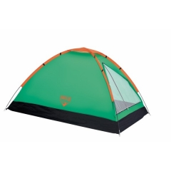 Bestway 2 Persons Camping Tent with a carry/hiking bag green-black 1.5m by 2.5m