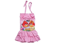 Children swimming Suit Small Baby Pink