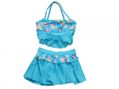 Children swimming Suit Small Blue