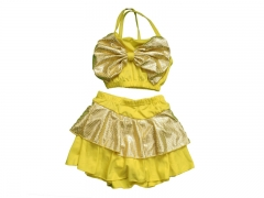 Children swimming Suits Small Yellow