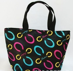 C word pattern ladies bag