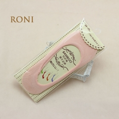 RONI Lady  silicone anti-slip anti-shedding socks girl  bamboo fiber boat socks 01 all code