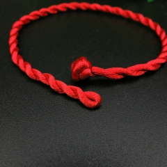RONI Handcrafted red rope bracelet couple bracelet red all code
