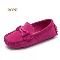 RONI  Baby boy  rubber sole shoes girl kids princess shoes casual shoes rose 22