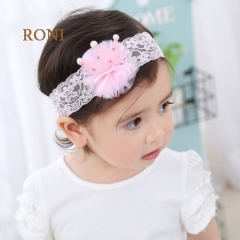 RONI Shining crown, five-pointed baby elastic hairband. 01